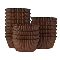 View the bulk pack 500 BROWN professional muffin baking cases online at Cake Stuff
