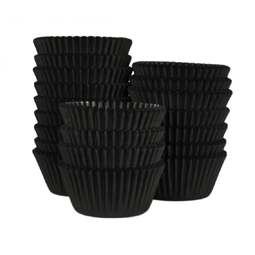 View the bulk pack 500 BLACK professional muffin baking cases online at Cake Stuff