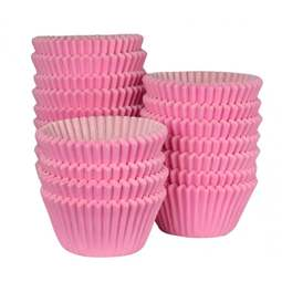 View the bulk pack 500 PINK professional muffin baking cases online at Cake Stuff