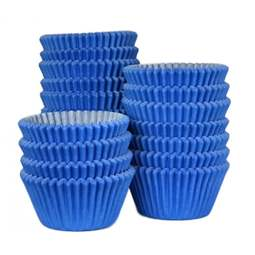 View the bulk pack 500 BLUE professional muffin baking cases online at Cake Stuff
