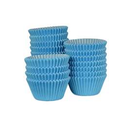 View the bulk pack 500 SKY BLUE professional muffin baking cases online at Cake Stuff