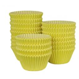 View the bulk pack 500 YELLOW professional muffin baking cases online at Cake Stuff