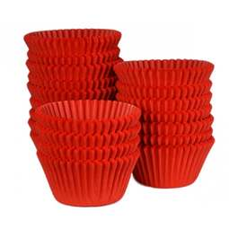 View the bulk pack 500 RED professional muffin baking cases online at Cake Stuff
