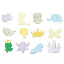View the Childs Play Tappit fondant icing cutter set - 12 designs online at Cake Stuff