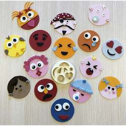 View the MIX 'N' MATCH FUNNY FACES & MORE icing & gumpaste cutter set online at Cake Stuff