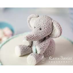 View the KNITTED PIECE silicone icing sugarcraft mould online at Cake Stuff