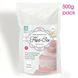 View the Flexi Ice instant lace icing mix - white 500g online at Cake Stuff