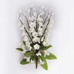 View the 150mm LILY OF THE VALLEY sugar flower spray decoration online at Cake Stuff