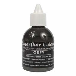 View the GREY 60ml airbrush liquid colouring online at Cake Stuff