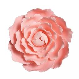 "View the large 4"" PINK PEONY ROSE sugar flower cake decoration online at Cake Stuff"