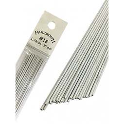 View the 18 gauge WHITE sugarcraft floristry wire - pk 25 online at Cake Stuff