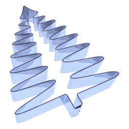 View the 65mm FERN LEAF stainless steel icing flower cutter online at Cake Stuff