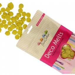 View the LIME GREEN Deco Melts chocolate candy buttons 250g online at Cake Stuff