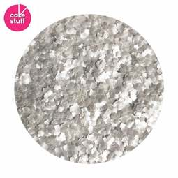 View the SILVER squares edible glitter flakes 7.08g online at Cake Stuff