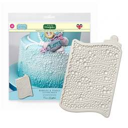 View the BUBBLES & PEARLS silicone cake icing mould mat online at Cake Stuff