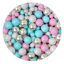 View the UNICORN POOP chocolate balls cake sprinkles 100g online at Cake Stuff