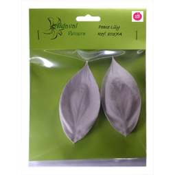 View the PEACE LILY L petal real flower silicone veiner set 8037A online at Cake Stuff