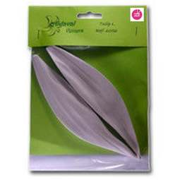 View the TULIP L leaf real flower silicone veiner set 6056 online at Cake Stuff
