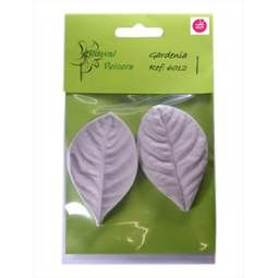 View the large GARDENIA L leaf real flower silicone veiner set 6012 online at Cake Stuff