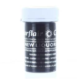 View the NEW LIQUORICE BLACK Spectral paste gel icing / food colouring 25g online at Cake Stuff