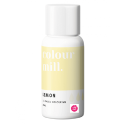 View the LEMON oil based concentrated icing colouring 20ml online at Cake Stuff