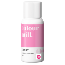 View the CANDY PINK oil based concentrated icing colouring 20ml online at Cake Stuff