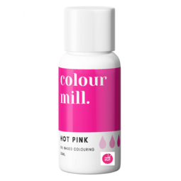 View the HOT PINK oil based concentrated icing colouring 20ml online at Cake Stuff