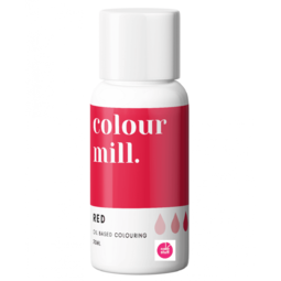 View the RED oil based concentrated icing colouring 20ml online at Cake Stuff