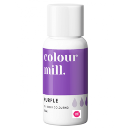 View the PURPLE oil based concentrated icing colouring 20ml online at Cake Stuff