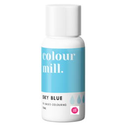 View the SKY BLUE oil based concentrated icing colouring 20ml online at Cake Stuff