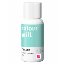 View the TIFFANY BLUE oil based concentrated icing colouring 20ml online at Cake Stuff