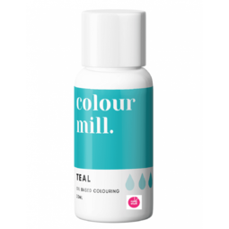 View the TEAL oil based concentrated icing colouring 20ml online at Cake Stuff