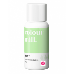 View the MINT GREEN oil based concentrated icing colouring 20ml online at Cake Stuff