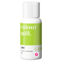 View the LIME GREEN oil based concentrated icing colouring 20ml online at Cake Stuff