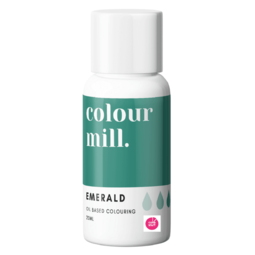 View the EMERALD GREEN oil based concentrated icing colouring 20ml online at Cake Stuff
