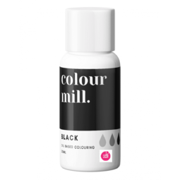 View the BLACK oil based concentrated icing colouring 20ml online at Cake Stuff
