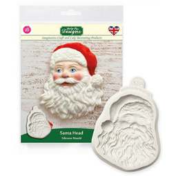 View the SANTA HEAD silicone icing mould online at Cake Stuff