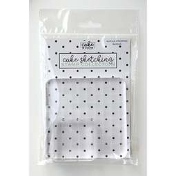 View the 2 ACRYLIC STAMPING BLOCKS - cake sketching stamp collection set online at Cake Stuff