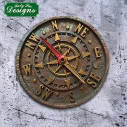 View the ANTIQUE COMPASS silicone icing mould online at Cake Stuff