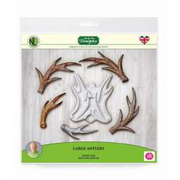 View the LARGE ANTLERS silicone icing mould - Nicholas Lodge online at Cake Stuff