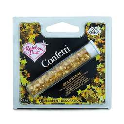 View the GOLD STARS edible confetti sprinkles online at Cake Stuff