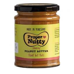 View the Smunchy Peanut Butter - nowt but nuts - 280g jar online at Cake Stuff