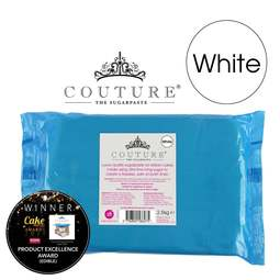 View the 2.5kg / 5?lb WHITE luxury sugarpaste ready to roll fondant icing online at Cake Stuff