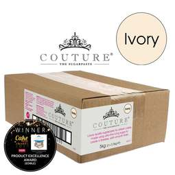 View the 5kg / 11lb IVORY luxury sugarpaste ready to roll fondant icing online at Cake Stuff