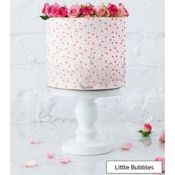 View the LITTLE BUBBLES full size cake icing stencil by Lissie Lou online at Cake Stuff