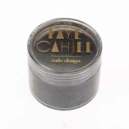 View the PLATINUM SILVER 20ml luxury edible lustre dust icing colour online at Cake Stuff
