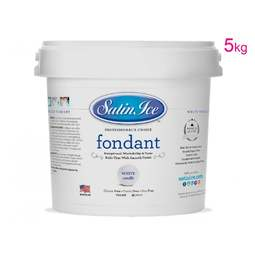 View the 5kg / 11lb white sugarpaste rolled fondant icing online at Cake Stuff