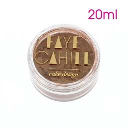 View the COOL BRONZE 20ml luxury edible lustre dust icing colour online at Cake Stuff