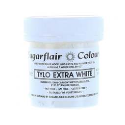 View the 50g Tylo Extra White powder CMC online at Cake Stuff