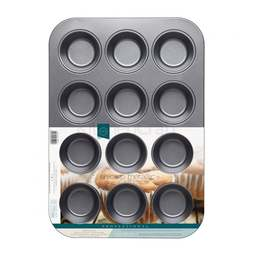 View the 12 hole deep cupcake / muffin baking pan online at Cake Stuff